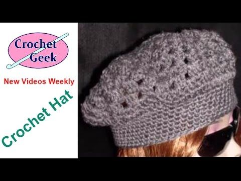 How to Crochet easy beret - (Redheart pattern LW2741 ) - Yolanda Soto Lopez - YouTube