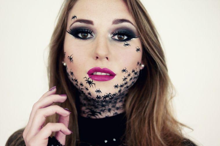 Maquillajes de halloween - las 34 ideas más escalofriantes