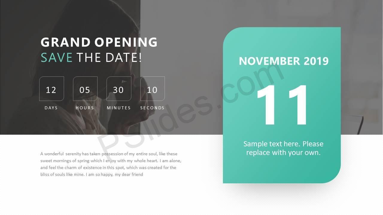 Save The Date Ppt Slide Check More At Httpspslidestemplates