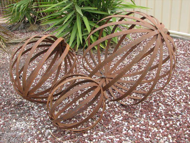 The OREsome Garden - Handcrafted Metal Sculptures - Home Garden