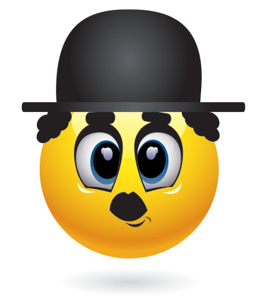 Smileys App With 1000 Smileys For Facebook Whatsapp Or Any Other Messenger Emoticon Funny Emoticons Charlie Chaplin