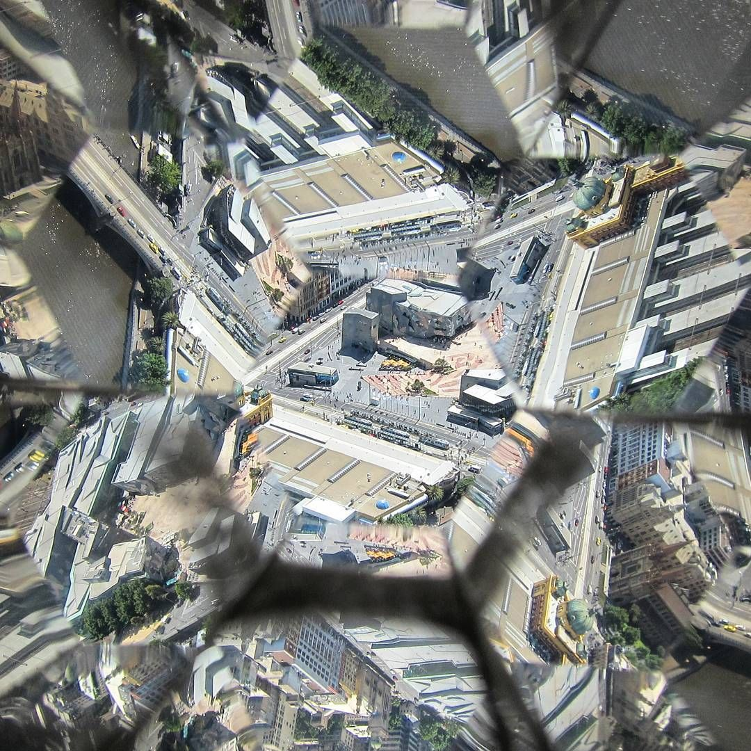 #OldPhotos #Kaleidoscope #Melbourne #Australia #EurekaTower #ViewFromTheTop #Y2011