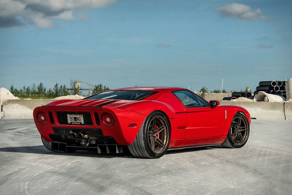 Heffner Performance Elite Ford Gt Coupe With Images Ford Gt Ford Gt 2005 Ford