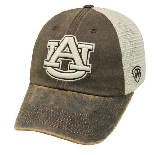detailed pictures d584d 14216 Top of the World Adults  Auburn University ScatMesh Cap (Brown Grey, Size  One Size) - NCAA Licensed Product, NCAA Men s Caps at Academy Sports