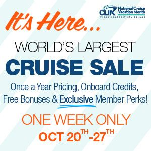 World S Largest Cruise Sale Is Here From October 20th 27th
