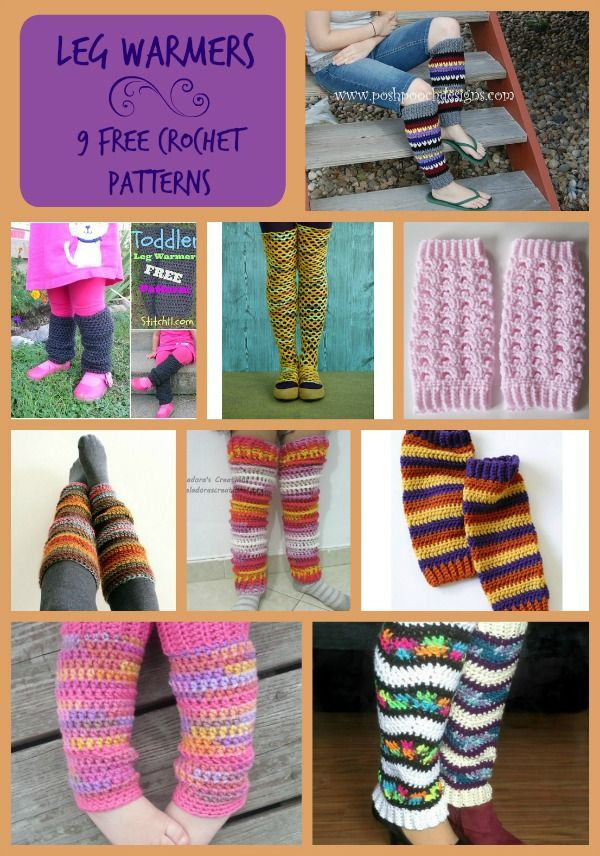 Leg warmers can be such a fun accessory to wear when you want that extra warmth for your legs but don't feel like wearing long pants. They can be worn over leggings or just on your bare legs. They are also great for babies! 1. Yarn Stash Busting Leg Warmers by Posh Pooch Designs [...]
