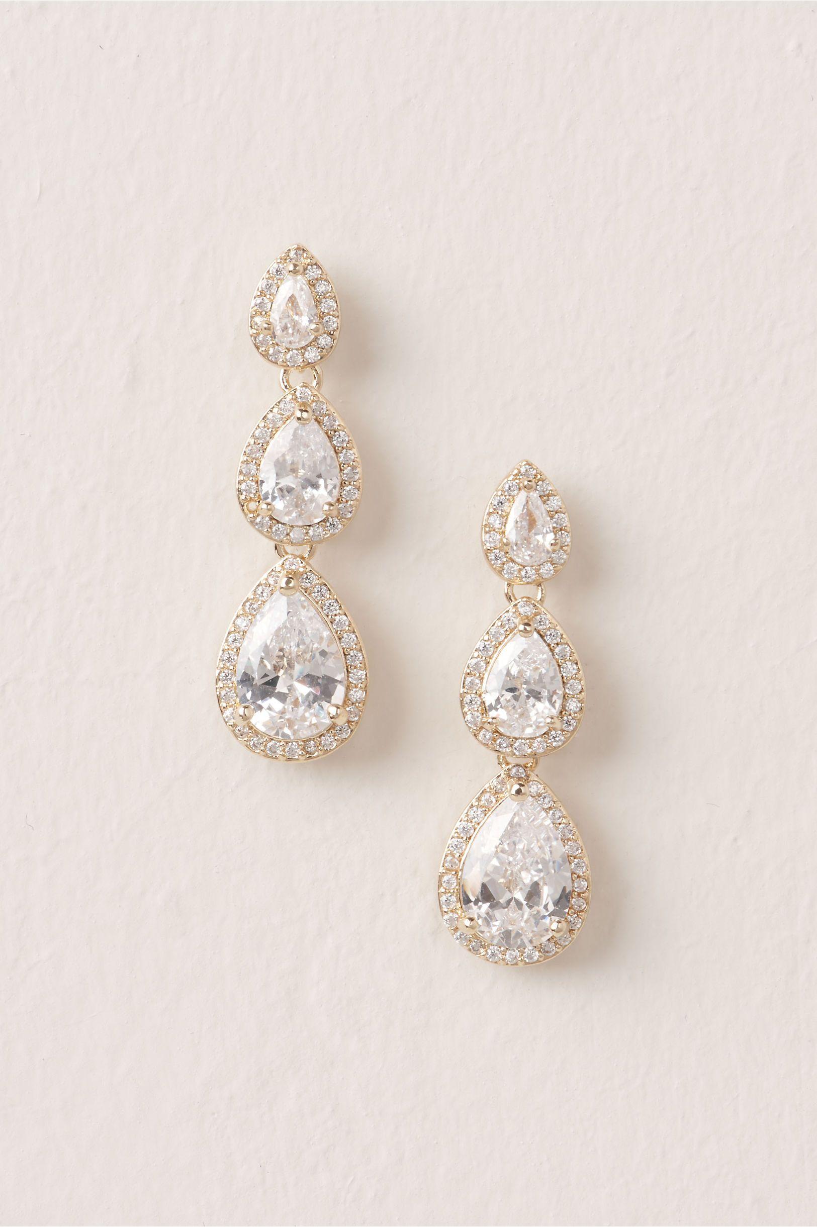 Honoria Drop Earrings Wedding In 2019 Jewelry