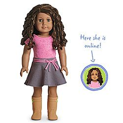 This Is The Doll Olivia Wants For Her Birthday 110 American Girl
