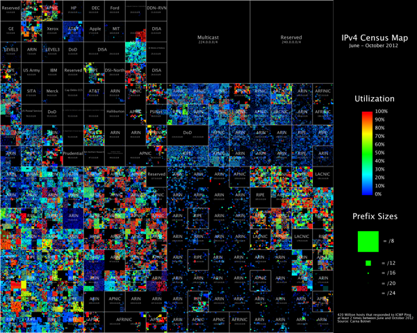 My favorite visualization from the data is the Hilbert Map, which