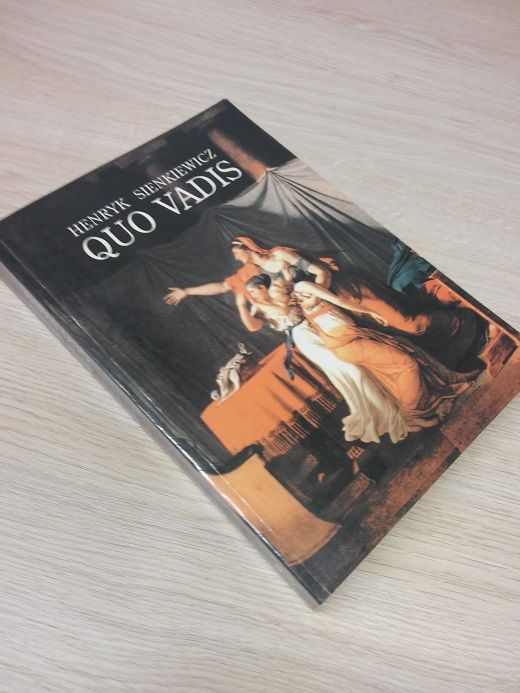 Quo Vadis H Sienkiewicz Wyprzedaz 5531392298 Oficjalne Archiwum Allegro Book Cover Shows Books