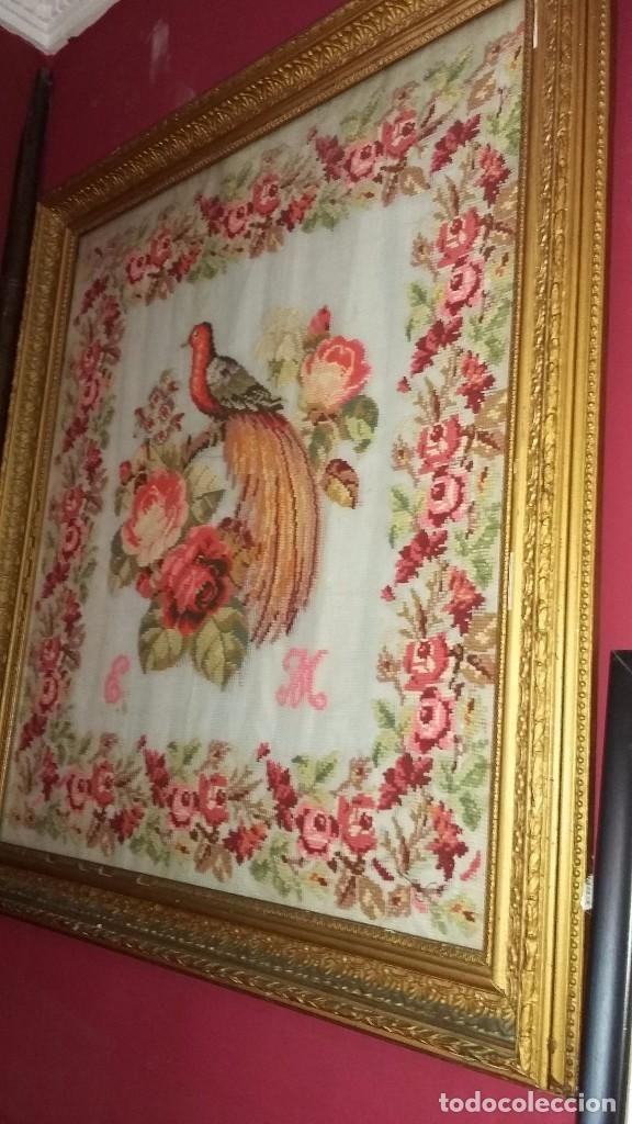 Cuadro en petit Point francés siglo XIX | Pinterest | Siglo xix ...