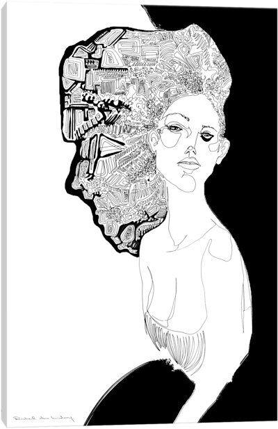 Los Angela Canvas Art Print