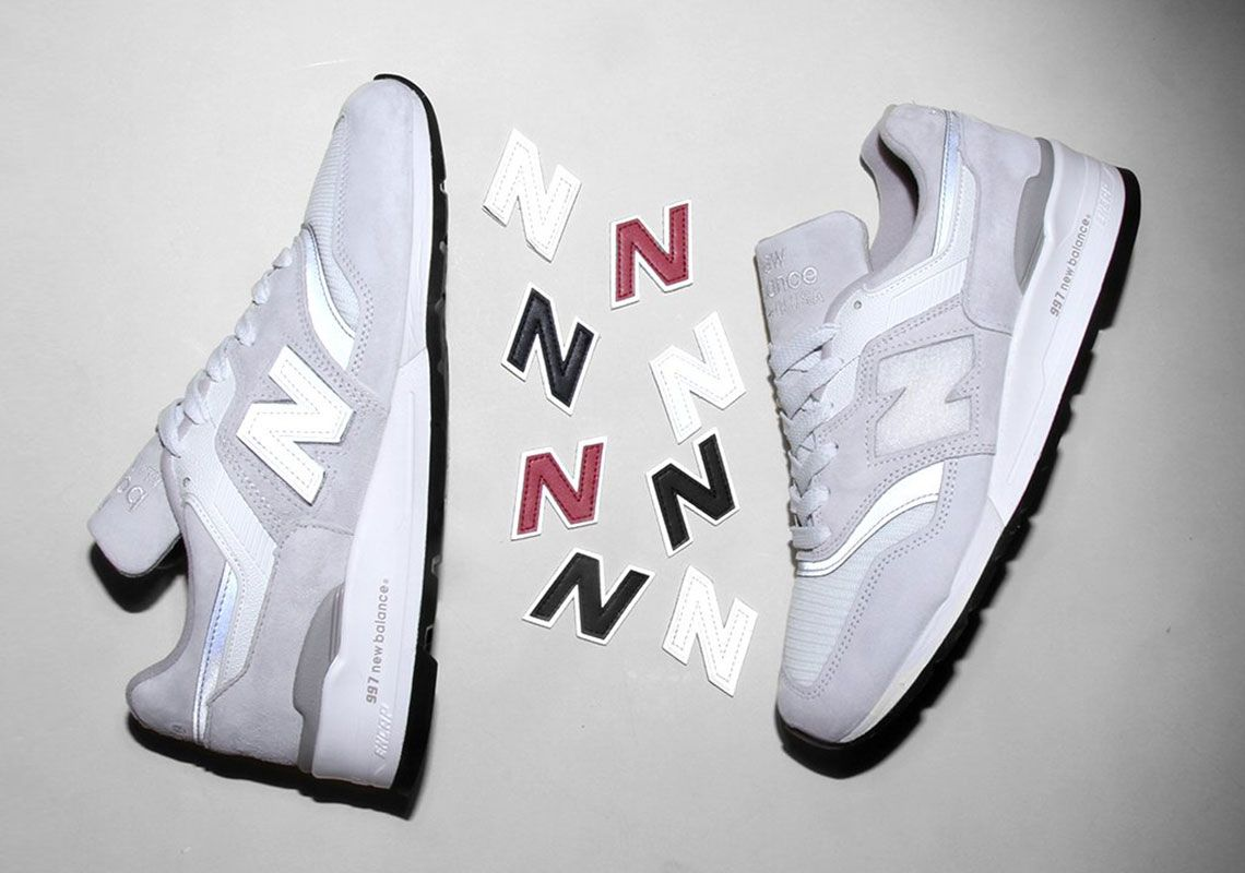 New Balance 997 Swappable N Logo Release Info