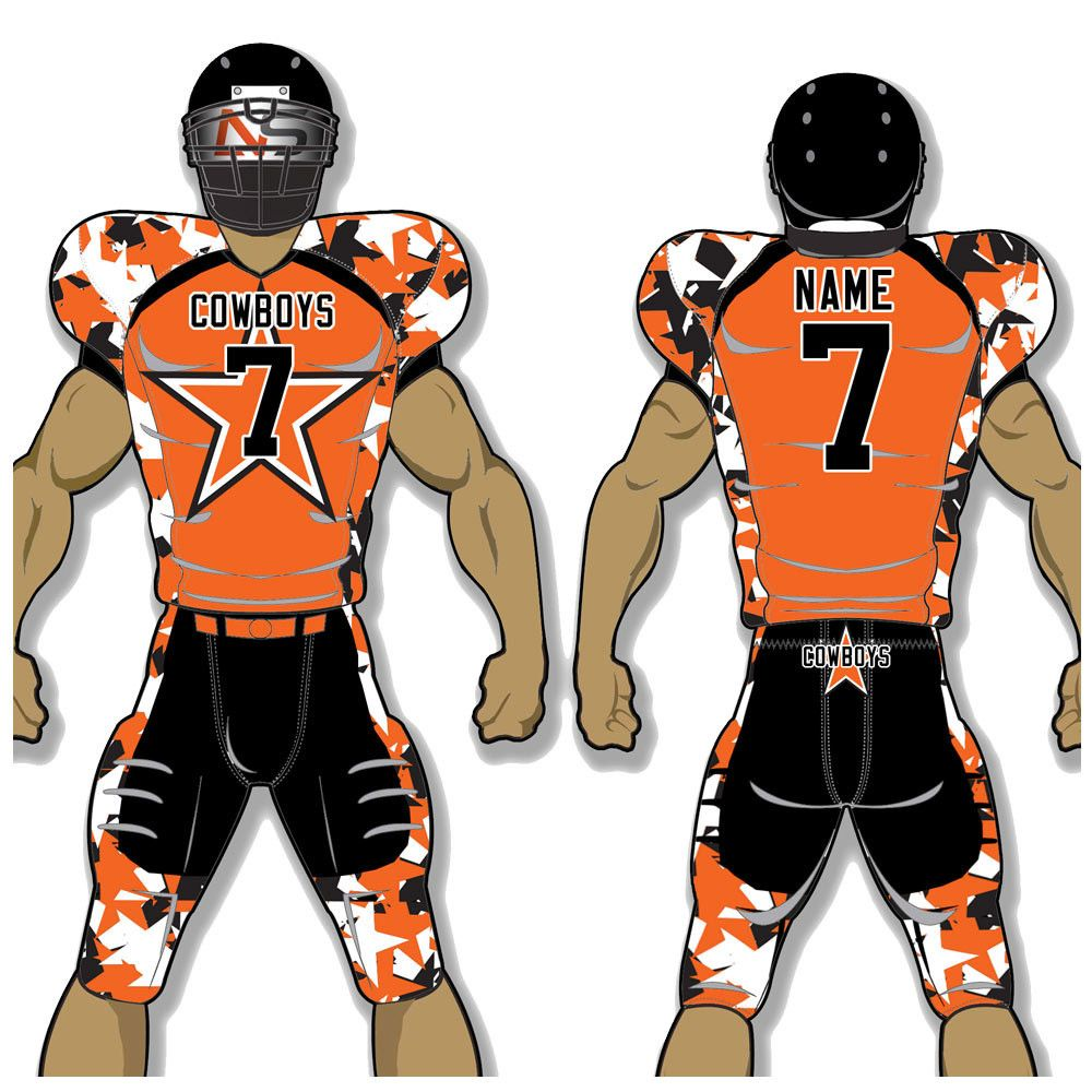Custom adult football uniforms get your team suited up for