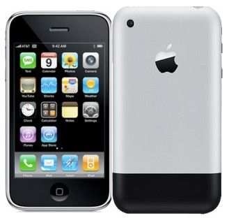 The First IPhone Was Launched On January 9th 2007 Bringing Together Three Things A Widescreen