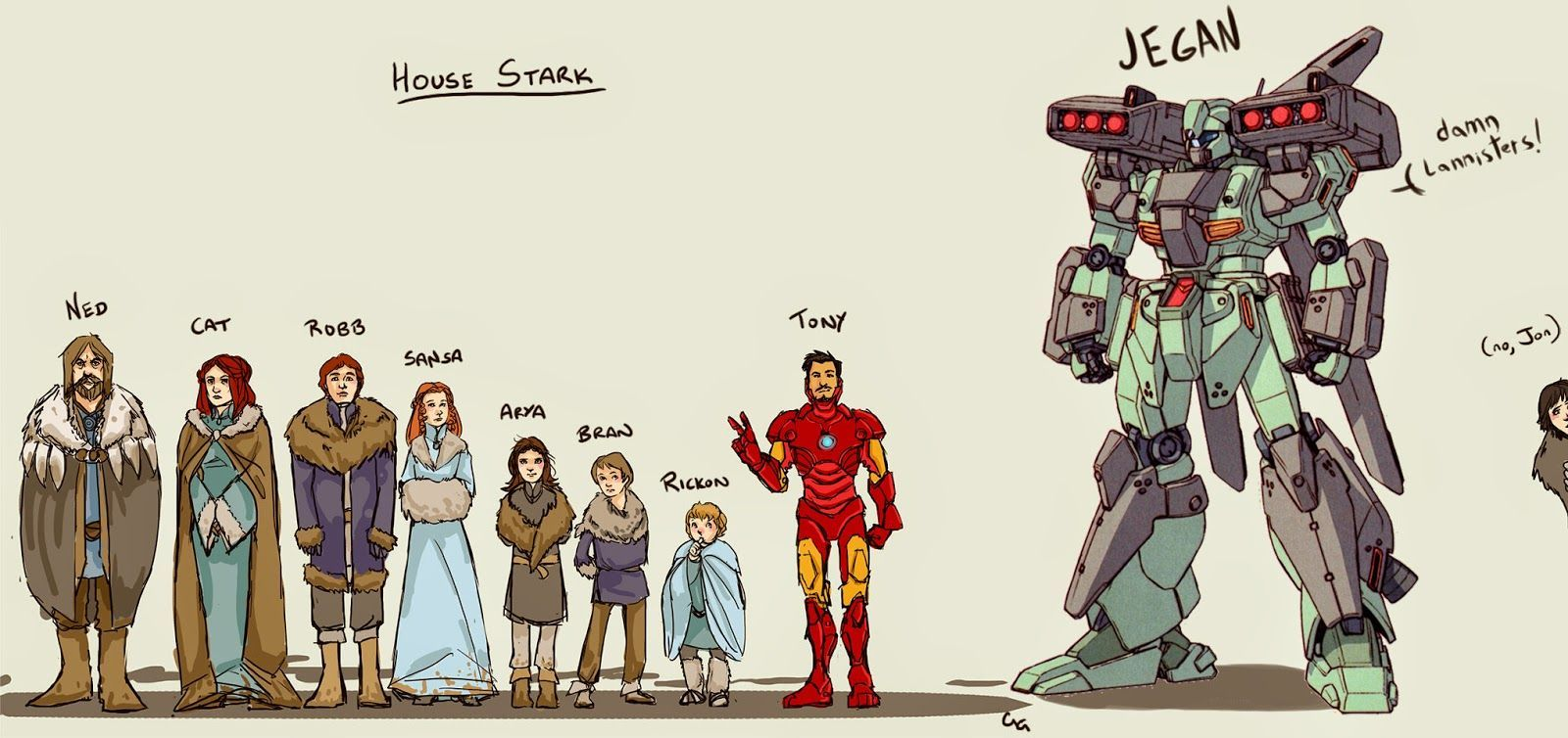 Art in tony stark s house