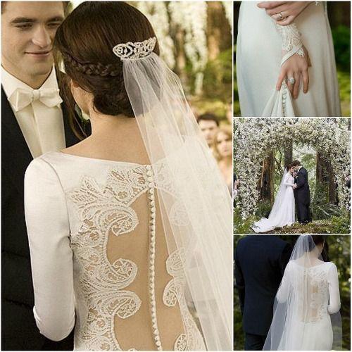 c5edc3ebb vestido de novia que uso bella en amanecer - Buscar con Google ...