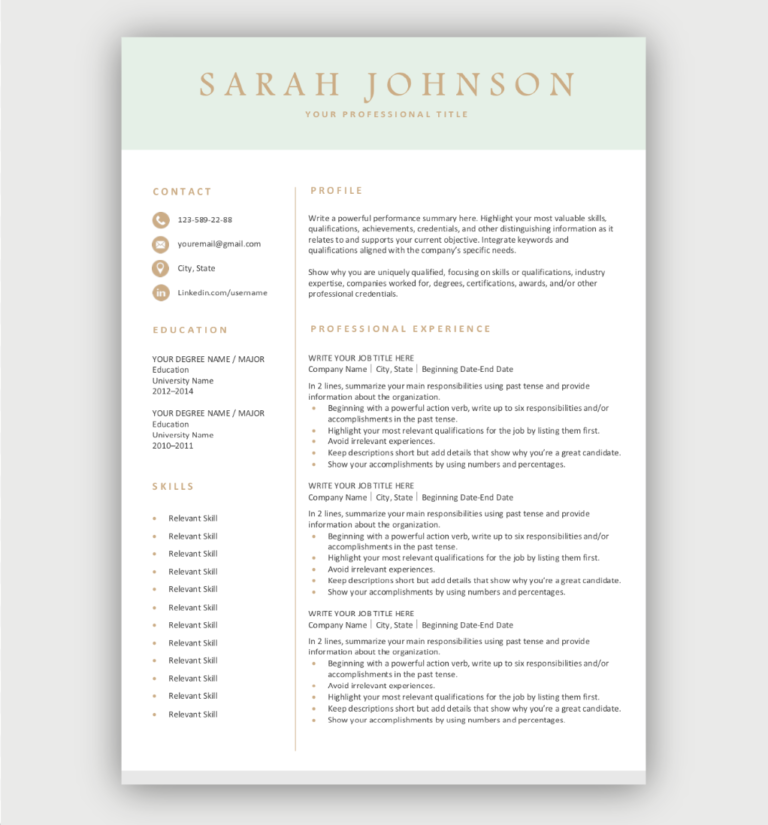 Professional Resume Template Free Download Easy To Edit In 2020 Free Resume Template Download Downloadable Resume Template Resume Template Free