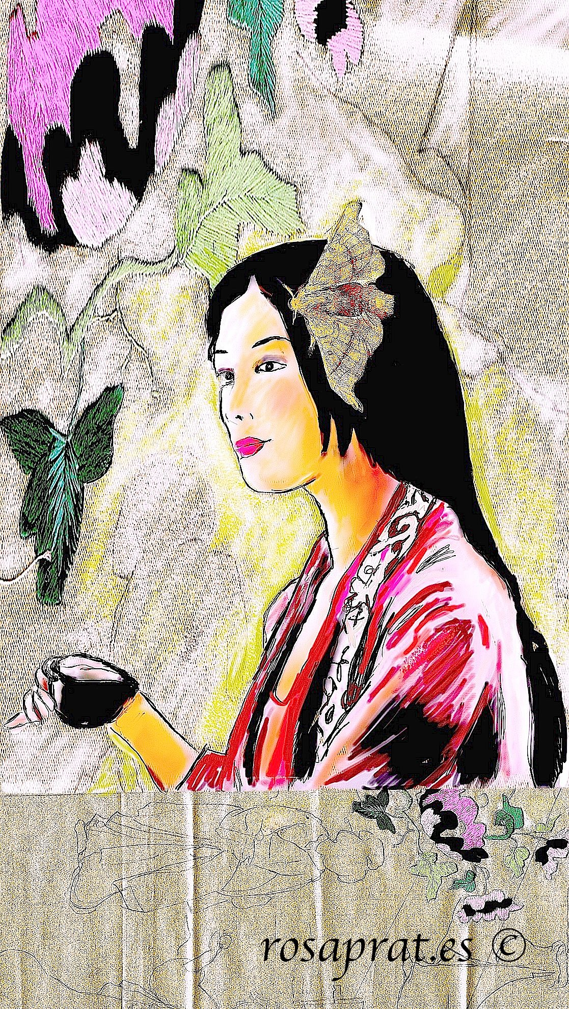 La emperatriz Xi Ling Chi . (dibujo digital) Nueva sección sobre ...