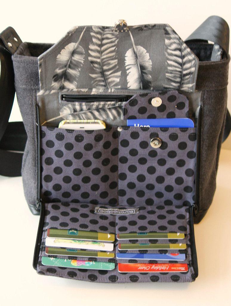 The Oleander Organizer Bag - PDF Sewing Pattern | Pdf sewing ...