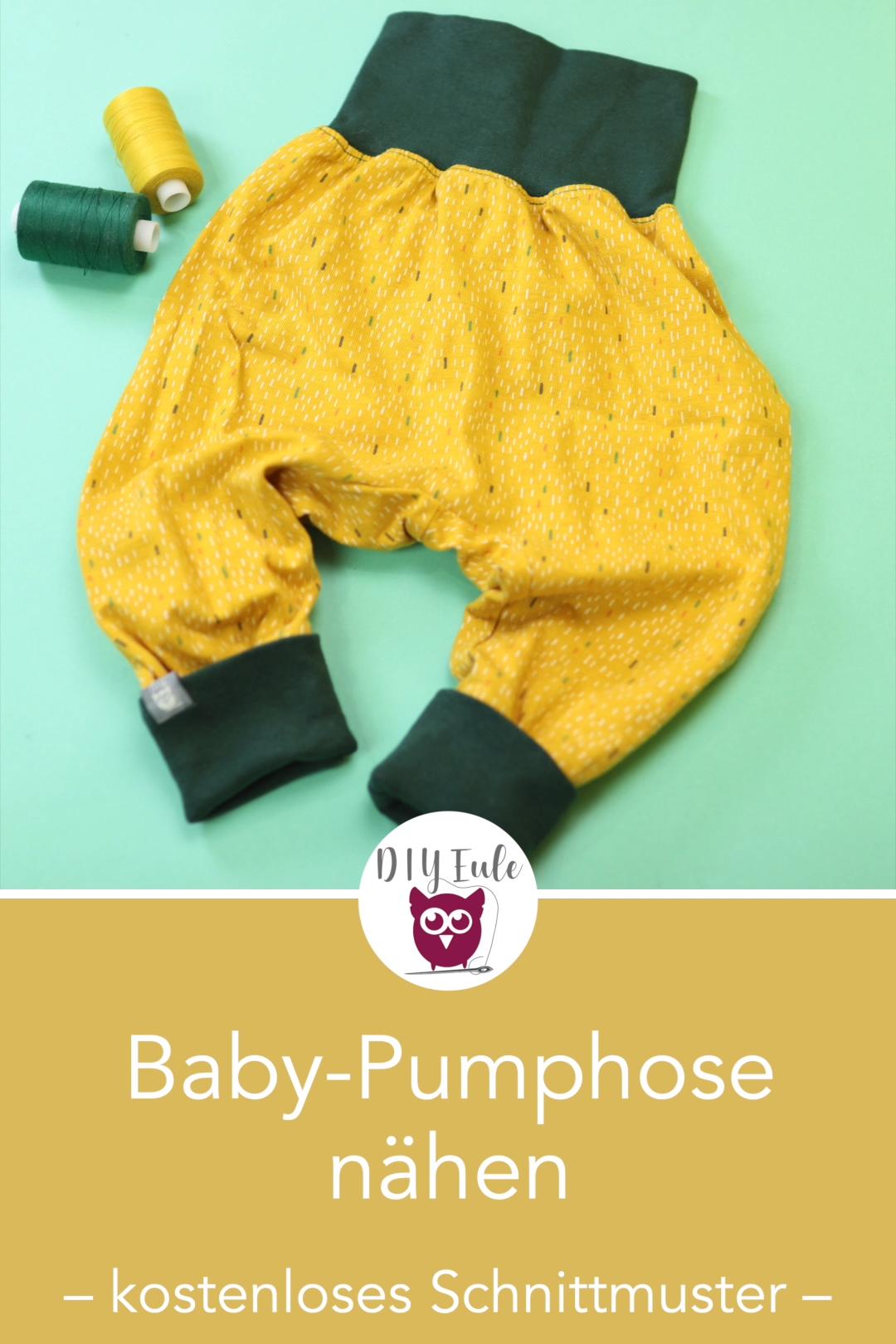 Photo of Baby Pumphose nähen aus nur einem Teil – perfekt für Jerseyreste und Stoffre…