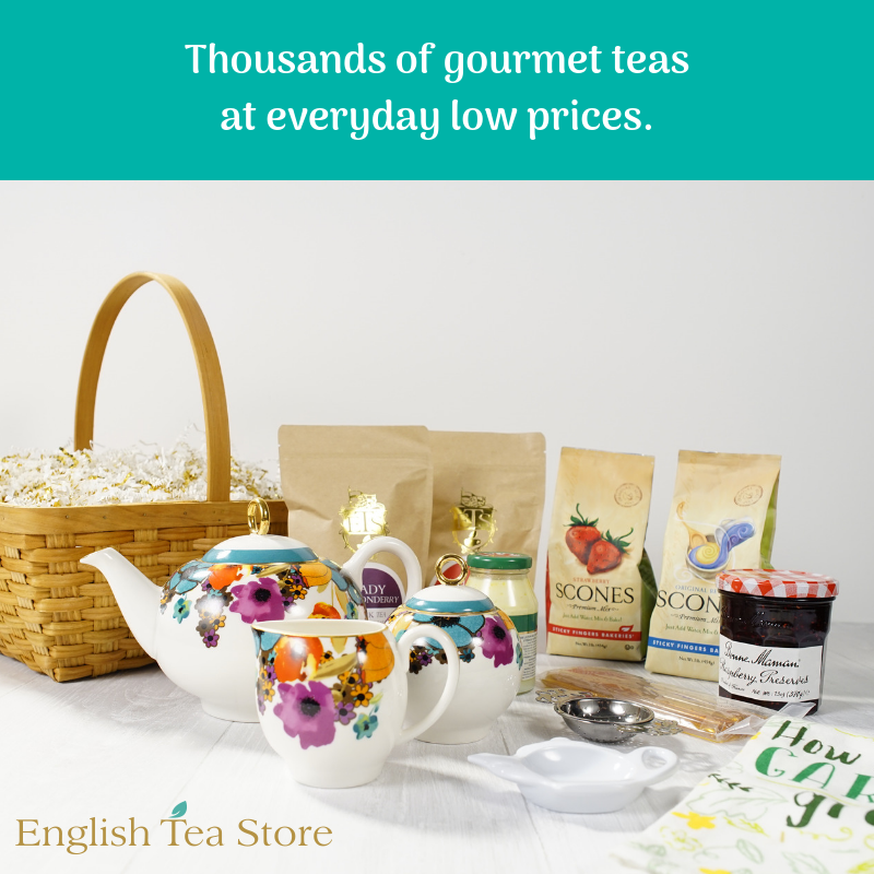 Birthday Gift For A Tea Lover Check Out Our Baskets Teas And Accessories
