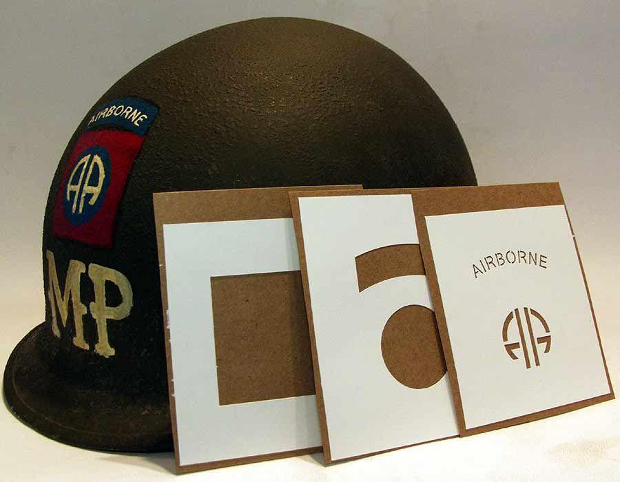 World War 2 Helmet Markings - TripodMarket com