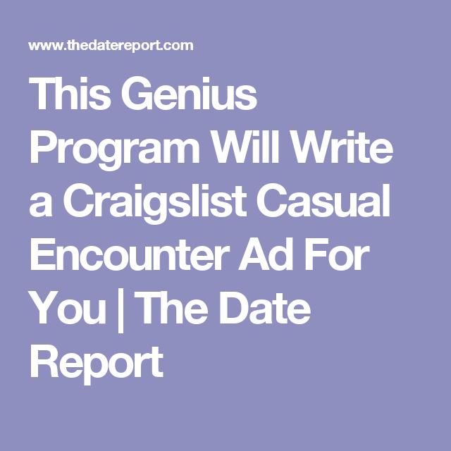 Casual dating kostenlos schreiben