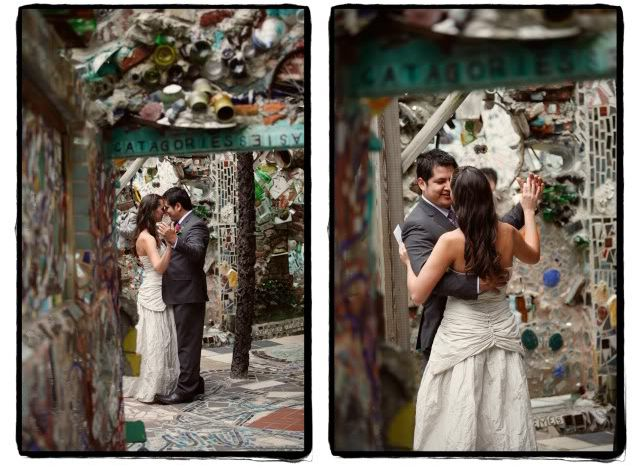 Philadelphia S Magic Gardens Local Artist Isaiah Zagar Wouldn T A Wedding Be