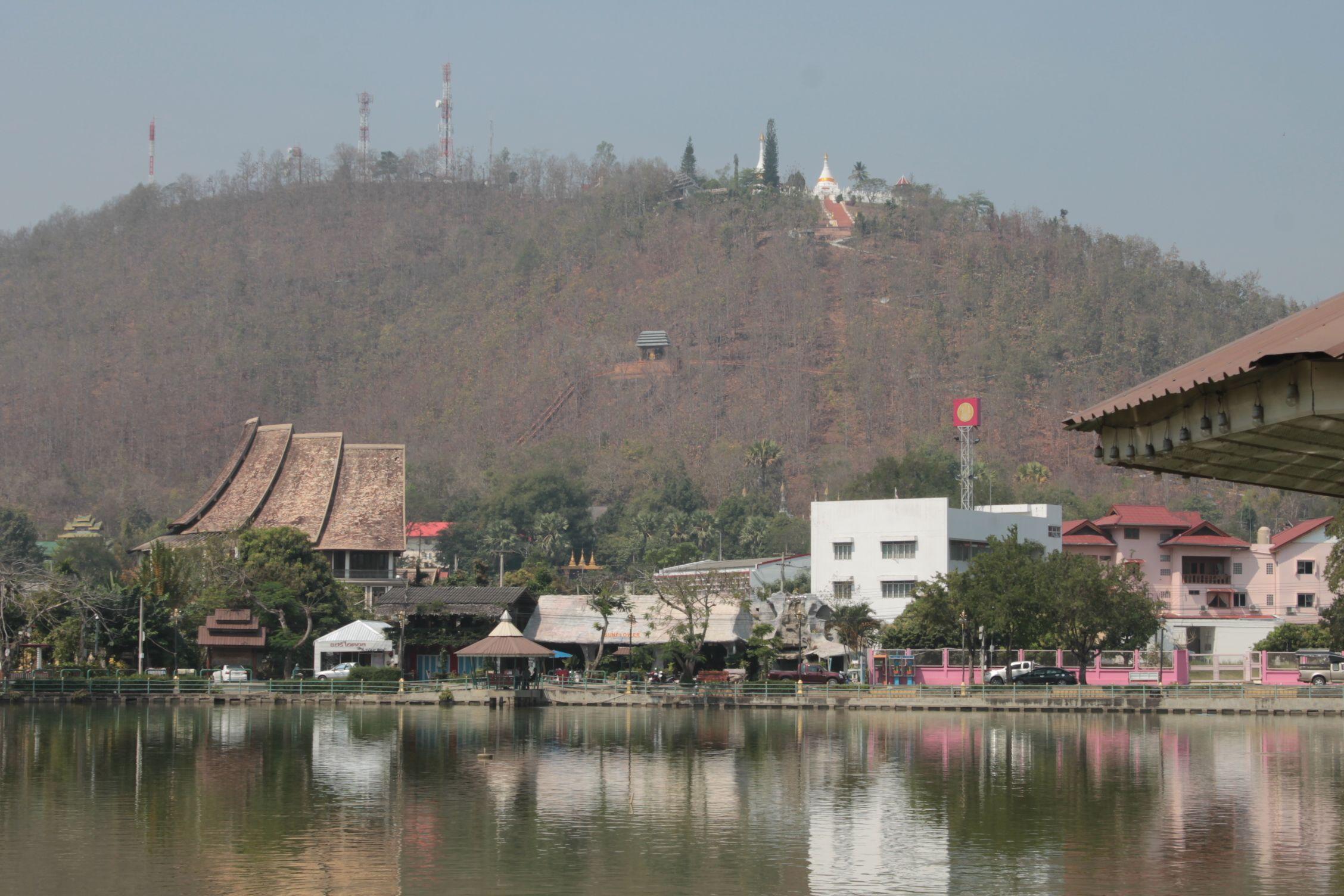 Mae Hong Son desde el lago