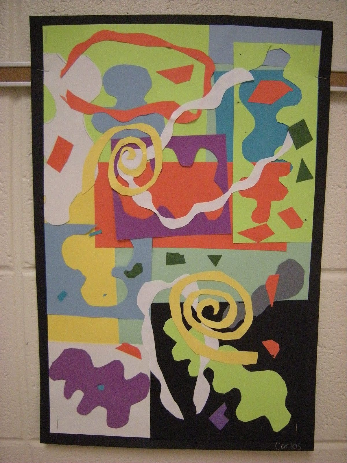What S Happening In The Art Room 2nd Grade Matisse