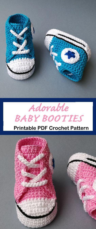Make Cute Baby Booties