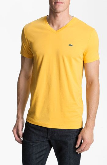 f0bcfd3a Lacoste V-Neck T-Shirt available at #Nordstrom   Sweet Swag 4 The ...
