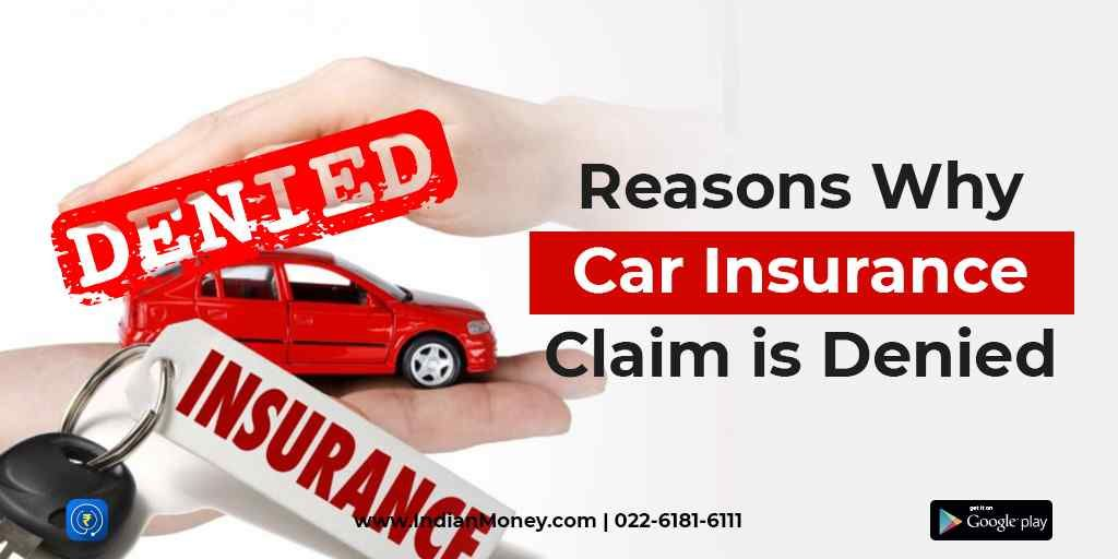 Reasons why car insurance is rejected car insurance