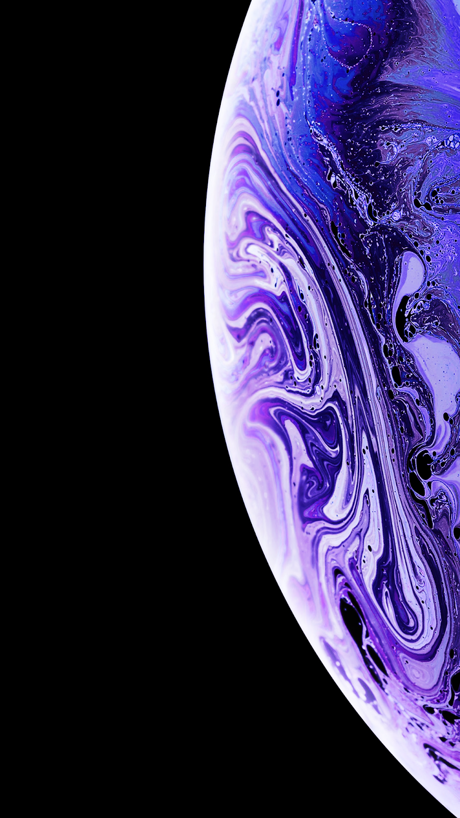 Iphone X Wallpaper Planet Hd