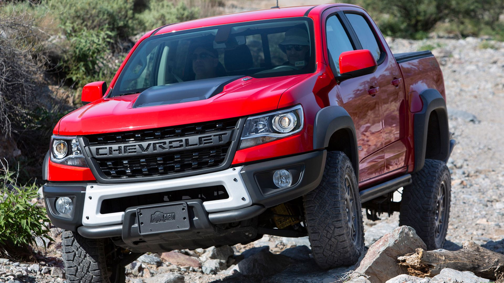 The 2019 Chevy Colorado Zr2 Bison Is Chevy S First Collaboration