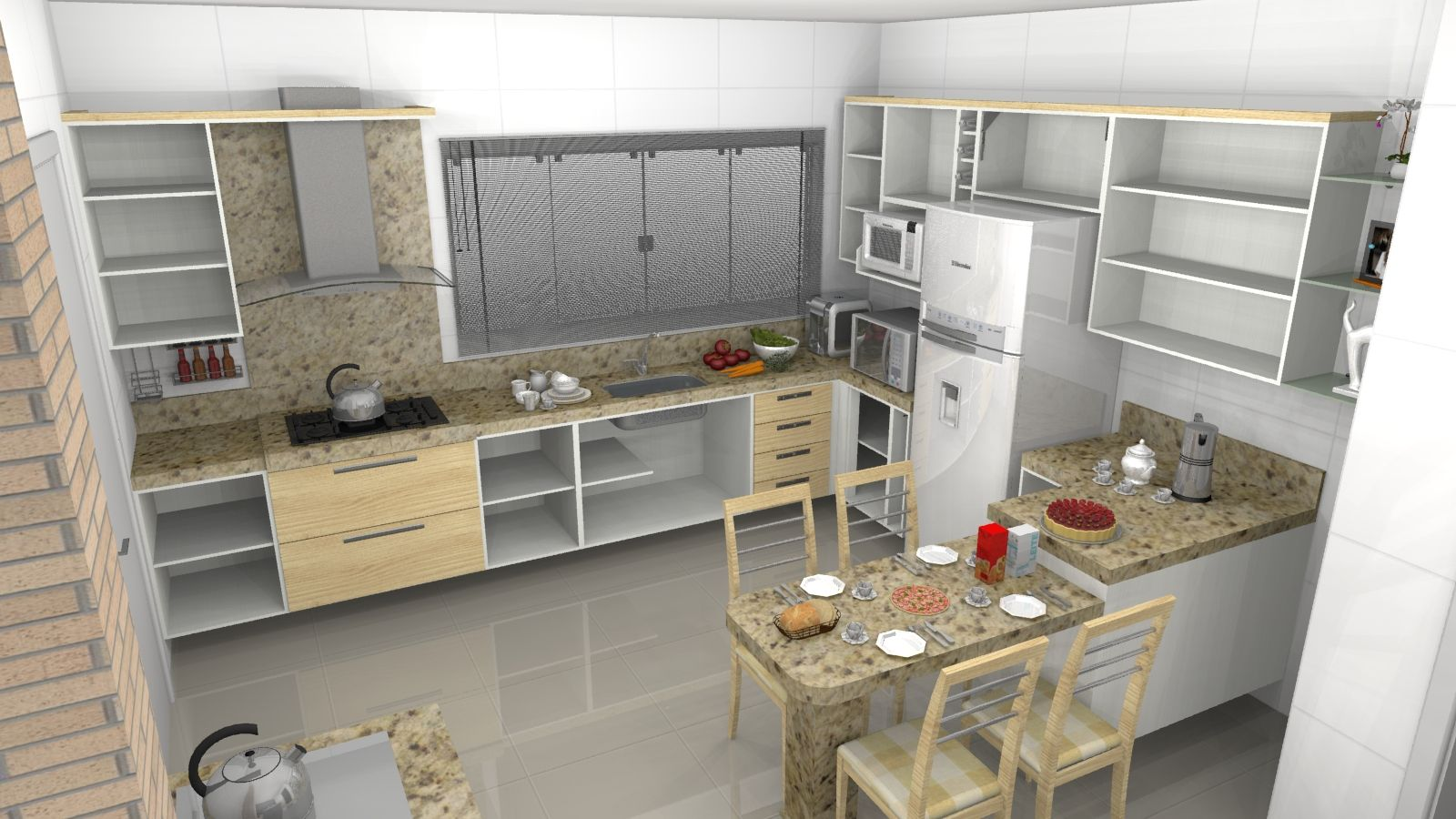 Cozinha Planejada 230 1 Jpg Imagem Jpeg 1600 900 Pixels