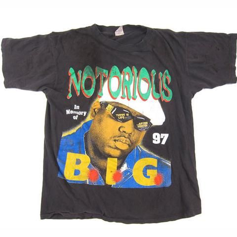 Vintage Notorious BIG In memory Of T-Shirt
