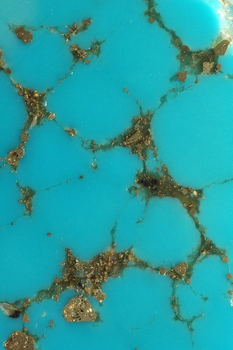 Turquoise and Pyrite