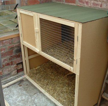 rabbit hutch plans how to build make a homemade wooden
