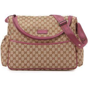 611b93009ccb Gucci Travel Guccissima-Print Diaper Bag w/ Changing Pad | bra ...