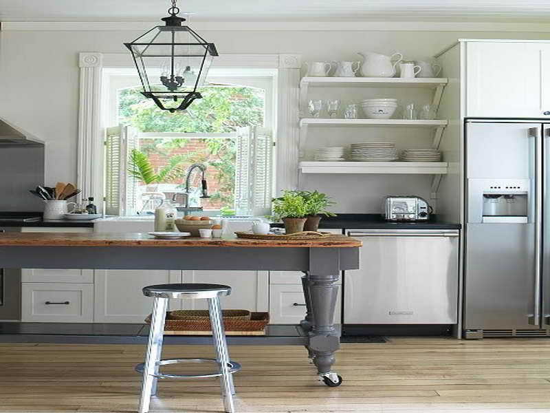 Best 55 Open Kitchen Shelving Ideas With Closed Cabinets 640 x 480