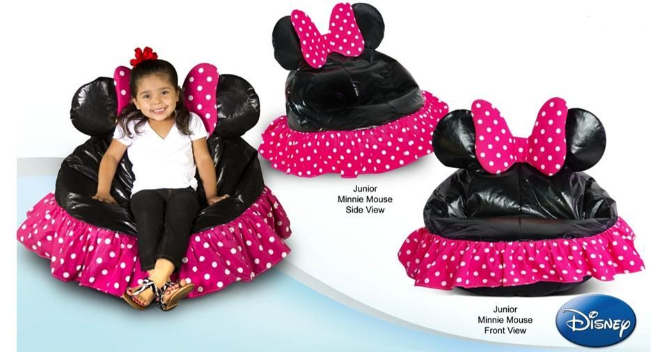 Mickey Mouse Clubhouse Bean Bag Chair Race Seat Office Base Minniemouse Beanbag Junior Minnie Cover Winnipeg Furniture Store