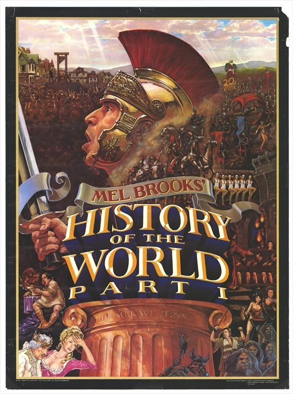 mel brooks history of the world part 1 movie posters