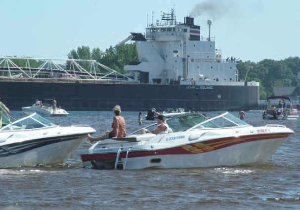 Muskegon, Mi  A great place to live, work and play.  It's Boat Time. Join us Aug.16-19 2012,