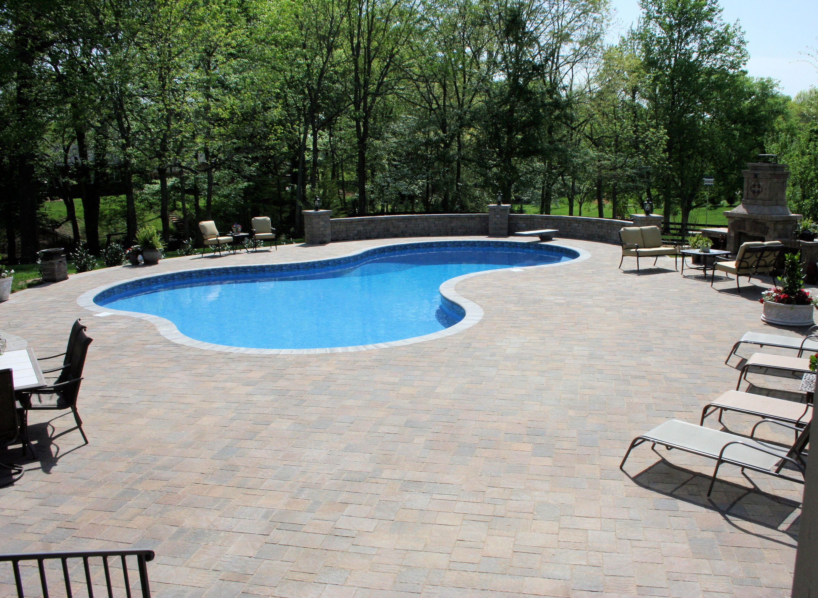 Matrix Swimming Pool And Belgard Urbana Pavers Stately Scapes