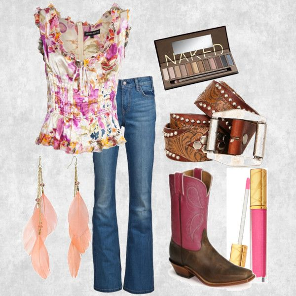 Cowgirl style...