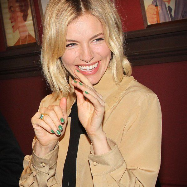 Sienna Miller with automn 2015 blouse