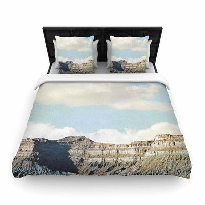 KESS InHouse Out West Woven Duvet Cover Size: