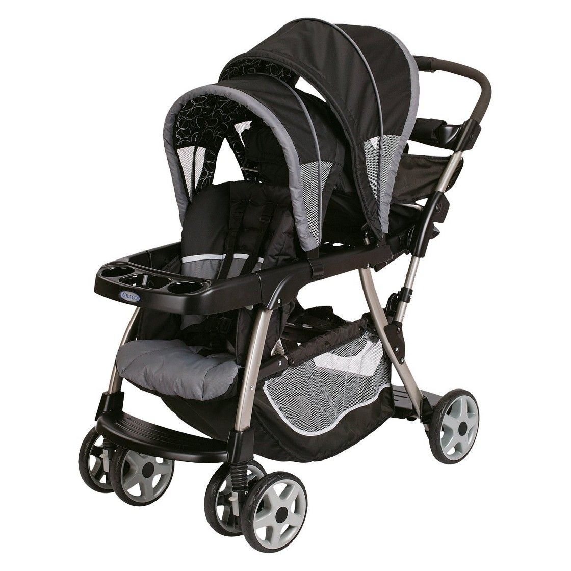 Graco Ready2Grow Classic Connect Double Stroller Double